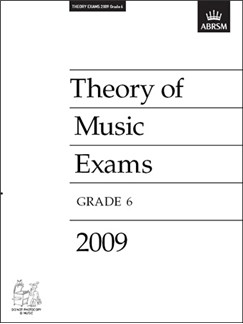 ABRSM Theory Of Music Exams 2009: Test Paper - Grade 6 Books |