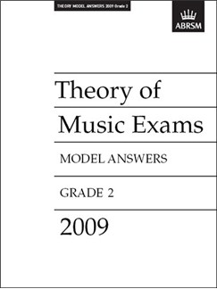 ABRSM Theory Of Music Exams 2009: Model Answers - Grade 2 Books |