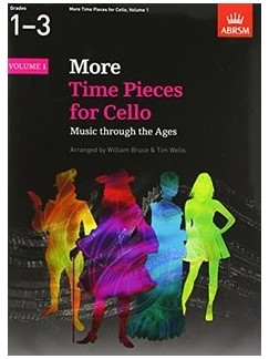 More Time Pieces For Cello - Volume 1 Books | Cello, Piano Accompaniment