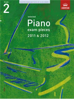 ABRSM Selected Piano Exam Pieces: 2011-2012 (Grade 2) - Book Only Books | Piano