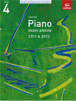 ABRSM Selected Piano Exam Pieces: 2011-2012 (Grade 4) - Book Only Bog | Klaver solo