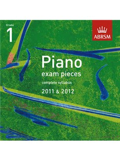 ABRSM Selected Piano Exam Pieces: 2011-2012 (Grade 1)  - CD Only CDs | Piano