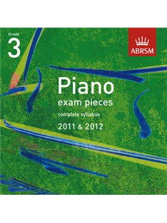 ABRSM Selected Piano Exam Pieces: 2011-2012 (Grade 3)  - CD Only CDs | Piano