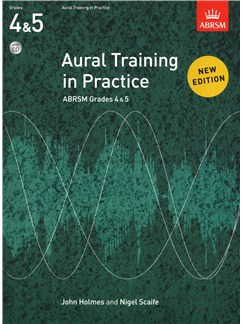 Aural Training In Practice: Book 2 - Grades 4-5 (Book/CD) CD y Libro |