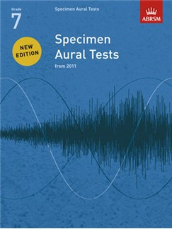 ABRSM Specimen Aural Tests - Grade 7 (2011+) Book Only Books |