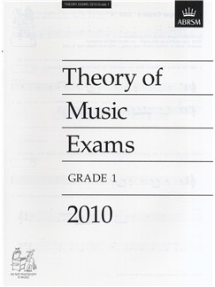 ABRSM Theory Of Music Exams 2010: Test Paper - Grade 1 Bog |