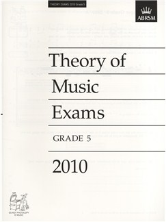ABRSM Theory Of Music Exams 2010: Test Paper - Grade 5 Books |