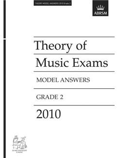 ABRSM Theory Of Music Exams 2010: Model Answers - Grade 2 Libro |