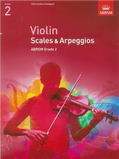 ABRSM: Violin Scales And Arpeggios - Grade 2 (From 2012) Libro | Violín