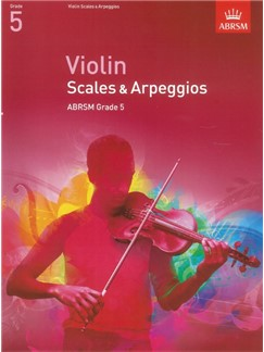 ABRSM: Violin Scales And Arpeggios - Grade 5 (From 2012) Libro | Violín