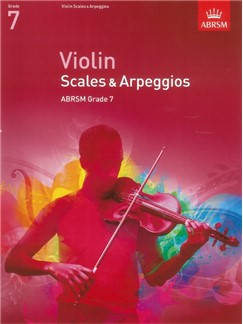 ABRSM: Violin Scales And Arpeggios - Grade 7 (From 2012) Books | Violin
