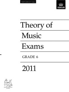 ABRSM Theory Of Music Exams 2011: Test Paper - Grade 6 Books |