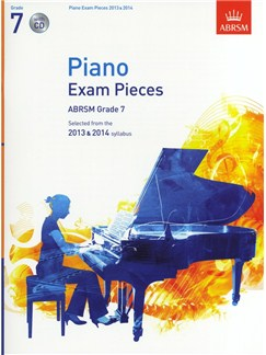 ABRSM Selected Piano Exam Pieces: 2013-2014 (Grade 7) - Book/CD Books and CDs | Piano