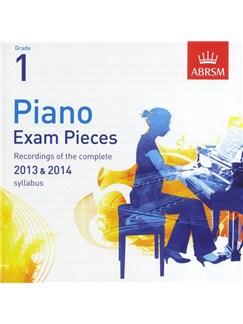 ABRSM Piano Exam Pieces: 2013-2014 (Grade 1) - CD Only CDs | Piano
