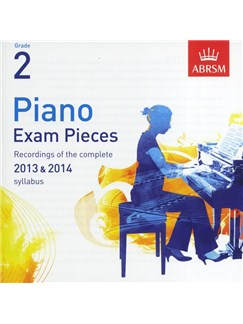 ABRSM Piano Exam Pieces: 2013-2014 (Grade 2) - CD Only CDs | Piano