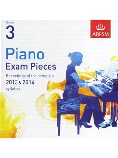 ABRSM Piano Exam Pieces: 2013-2014 (Grade 3) - CD Only CDs | Piano