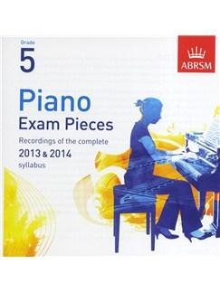 ABRSM Piano Exam Pieces: 2013-2014 (Grade 5) - CD Only CDs   Piano