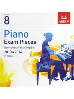 ABRSM Piano Exam Pieces: 2013-2014 (Grade 8) - 2 CDs CDs | Piano