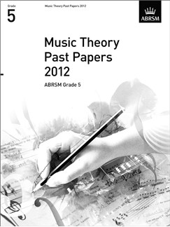 ABRSM Theory Of Music Exams 2012: Test Paper - Grade 5 Books |