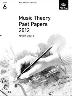 ABRSM Theory Of Music Exams 2012: Test Paper - Grade 6 Books |