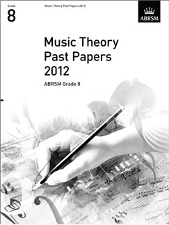 ABRSM Theory Of Music Exams 2012: Test Paper - Grade 8 Books |