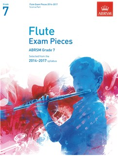 ABRSM Exam Pieces 2014-2017 Grade 7 Flute/Piano (Book Only) Books | Flute, Piano Accompaniment