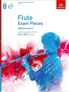 ABRSM Exam Pieces 2014-2017 Grade 8 Flute (2 CDs) CDs | Flute