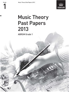 ABRSM Theory Of Music Exam 2013 Past Paper Grade 1 Books |