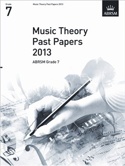 ABRSM Theory Of Music Exam 2013 Past Paper Grade 7 Books |
