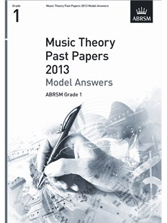 ABRSM Theory Of Music Exam 2013 Past Paper Model Answers Grade 1 Books |