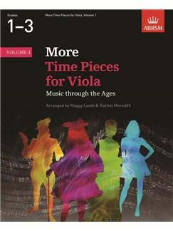 ABRSM: More Time Pieces For Viola - Volume 1 Books | Viola, Piano Accompaniment