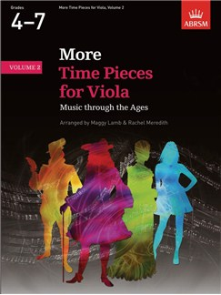 ABRSM: More Time Pieces For Viola - Volume 2 Books | Viola, Piano Accompaniment