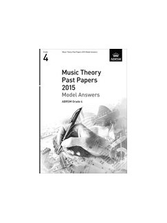 ABRSM Theory Of Music Exam Model Answers 2015: Grade 4 Books |