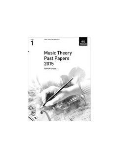 ABRSM Theory Of Music Exam Past Paper 2015: Grade 1 Books |