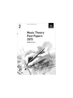 ABRSM Theory Of Music Exam Past Paper 2015: Grade 2 Books |