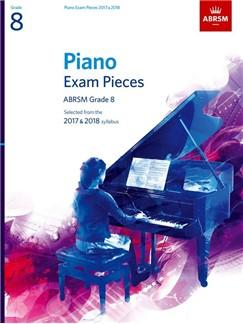 ABRSM Piano Exam Pieces: 2017-2018 (Grade 8) - Book Only Books   Piano