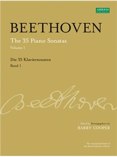 Ludwig Van Beethoven: The 35 Piano Sonatas Volume 1 Books and CDs | Piano