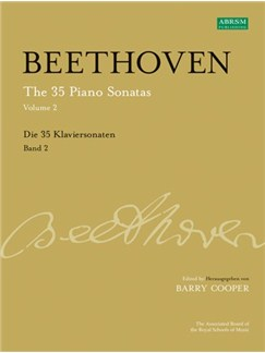 Ludwig Van Beethoven: The 35 Piano Sonatas Volume 2 Books and CDs | Piano