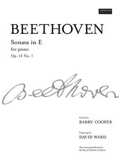 Beethoven: Piano Sonata In E Op.14 No.1 Books | Piano