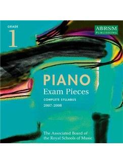 ABRSM Selected Piano Examination Pieces: Grade 1 2007-08 (CD) CDs | Piano