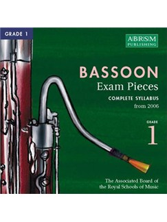 ABRSM Selected Bassoon Exam Pieces 2006 CD - Grade 1 CDs | Bassoon