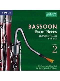 ABRSM Selected Bassoon Exam Pieces 2006 CD - Grade 2 CDs   Bassoon