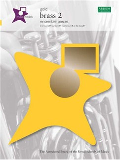 ABRSM Music Medals: Brass 2 Ensemble Pieces - Gold Books | Bass Clef Instruments, Trombone, Baritone, Euphonium, Tuba