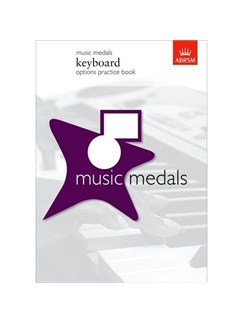 Music Medals Keyboard Options Practice Books | Keyboard