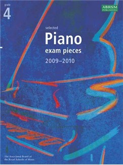 ABRSM Selected Piano Exam Pieces: 2009-2010 (Grade 4) - Book Only Books | Piano