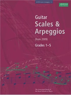 ABRSM Guitar Scales and Arpeggios: From 2009 (Grades 1-5) Books | Guitar