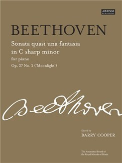 Ludwig Van Beethoven: Sonata No.14 In C Sharp Minor Op.27 No.2 'Moonlight' Books | Piano