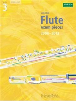 ABRSM Flute Examination Pieces: Grade 3 (2008-2013) Books | Flute, Piano Accompaniment