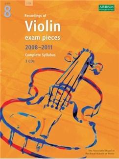 ABRSM Violin Examination Pieces: Grade 8 (2008-2011) - 3 CDs CDs | Violin