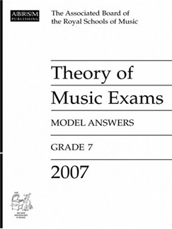 ABRSM Theory Of Music Examinations: Model Answers - Grade 7 (2007) Books |
